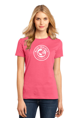 District Made® - Ladies Perfect Weight® Crew Tee - Blue Project - Shop Atlantis Bahamas