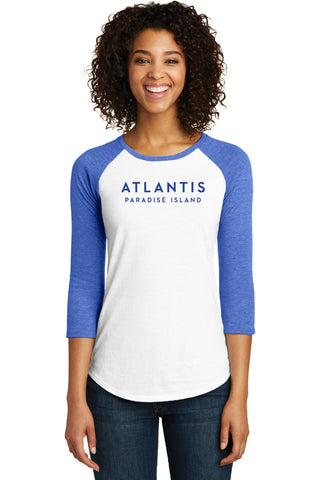 Juniors Fine Tee 3/4-Sleeve - Shop Atlantis Bahamas