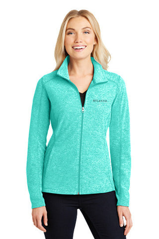 Heather Microfleece Full-Zip Jacket - Shop Atlantis Bahamas