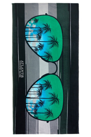 "Sunglasses Beach Towel 30"" x 60"" - Shop Atlantis Bahamas"