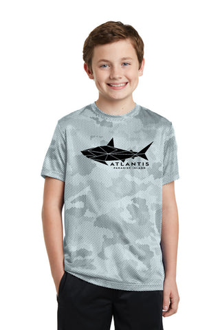 Geo Shark Performance Youth Tee - Shop Atlantis Bahamas