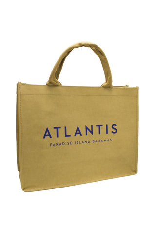 Washable Kraft Paper Tote Bag: Atlantis Bahamas - 16 x 6 x 12 - Shop Atlantis Bahamas