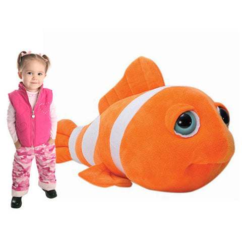 Jumbo 2.75-Foot Plush Clown Fish - Shop Atlantis Bahamas