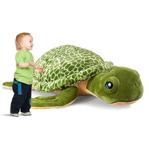 Jumbo 5-Foot Plush Sea Turtle - Shop Atlantis Bahamas