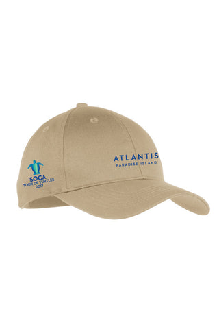 Youth Six-Panel Twill Cap - SOCA: Tour de Turtles - Shop Atlantis Bahamas