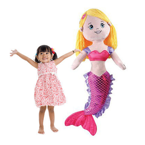 Jumbo 3-Foot Plush Mermaid - Shop Atlantis Bahamas