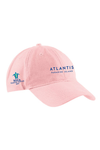 Brushed Twill Low Profile Cap - SOCA: Tour de Turtles - Shop Atlantis Bahamas
