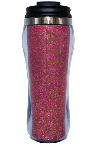 Atlantis 14 oz. Double Wall Glitter Tumbler - Shop Atlantis Bahamas