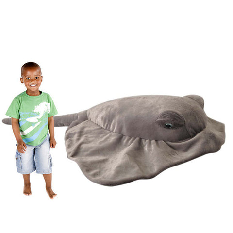 Jumbo 5-Foot Plush Stingray - Shop Atlantis Bahamas