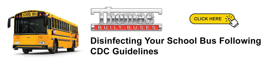 Disinfecting Your School Bus Following CDC Guidelines