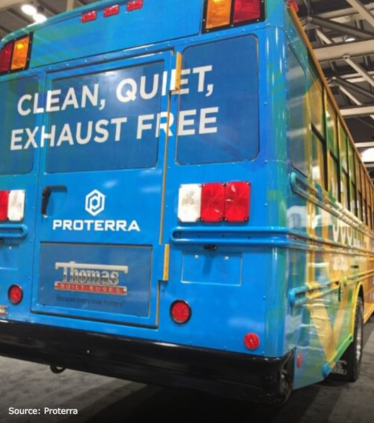New Electric School Bus Unveiled by Proterra, Thomas Built Buses