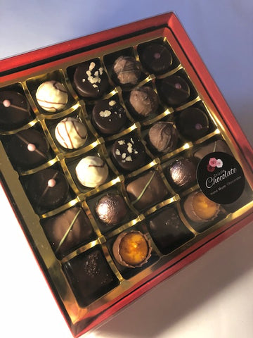 25 Chocolate Box - Special Choice for Valentines, Mother's Day, Birthday and Anniversary
