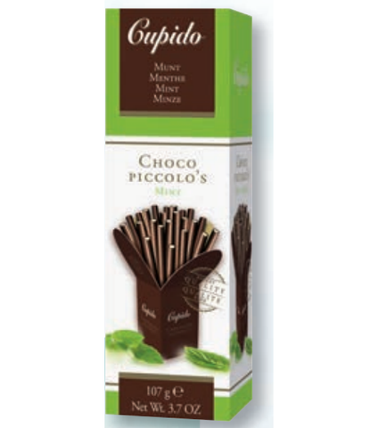 Cupido Chocolate Piccolo Sticks - Mint