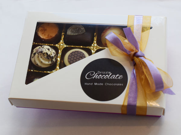 12 Chocolate Collection Box for Valentines, Mothers Day, Birthday and Anniversary