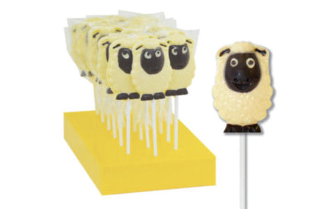 Dolly The Sheep Chocolate Lollipop