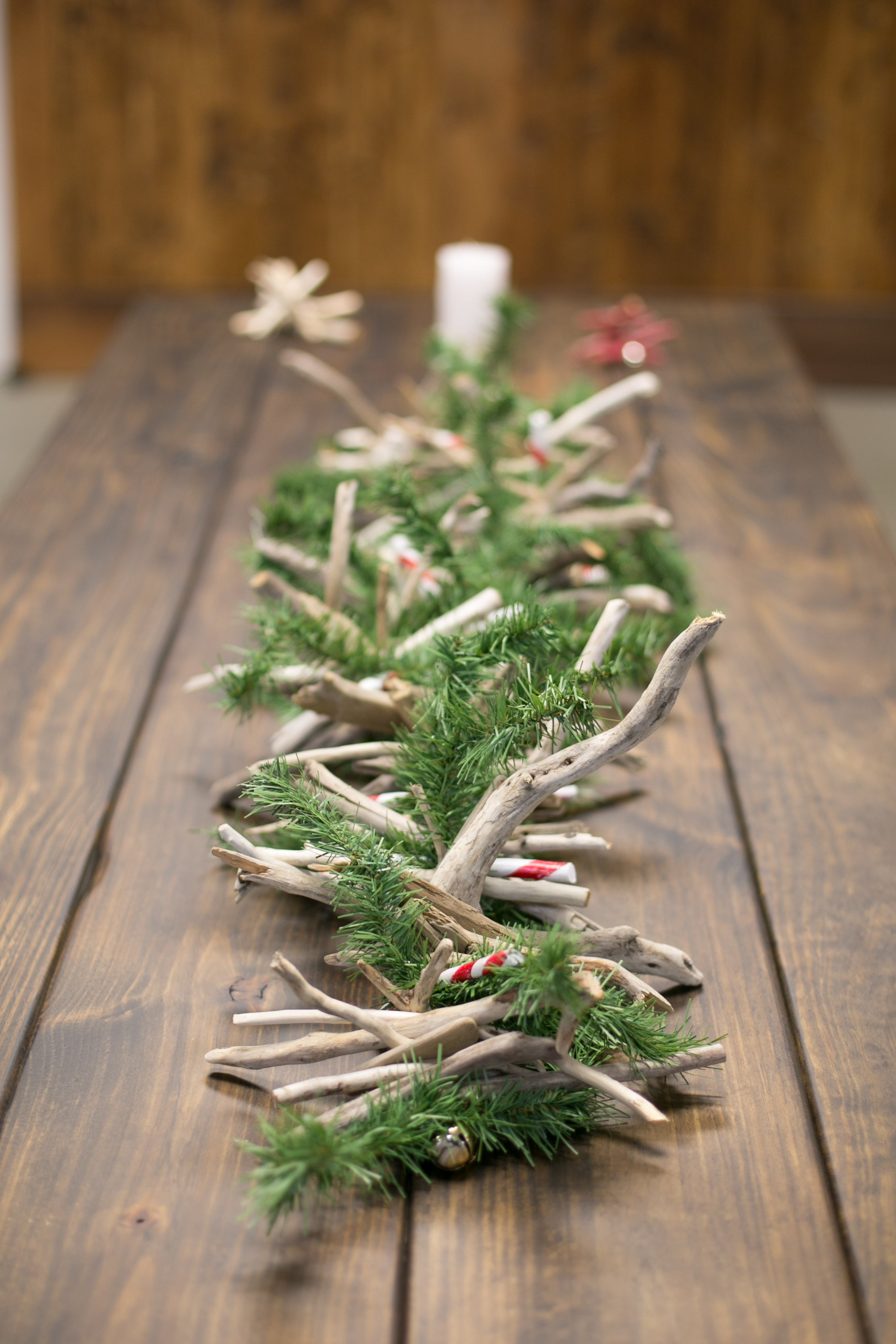 Christmas Driftwood Garland Great Lakes Reclaimed