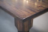 Distressed Pine Farmhouse Plank Table