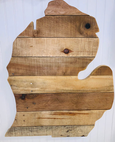 Reclaimed Wood Lower Peninsula Only