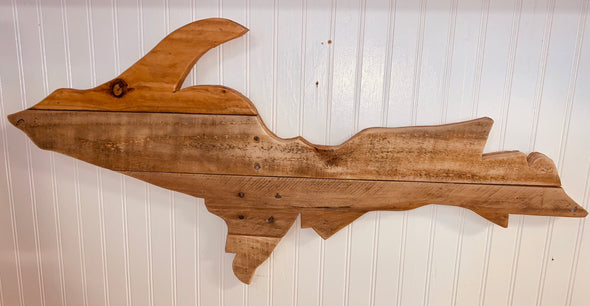 Reclaimed Wood Upper Peninsula Only - Unfinished