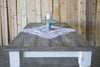 Gray Plank Farmhouse Table
