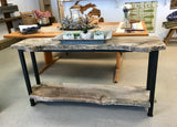 Live Edge Reclaimed Wood Console