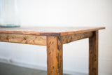 Rustic Distressed Farmhouse Table