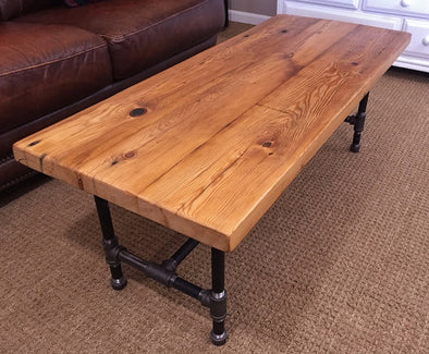 Janice K. Custom Reclaimed Wood Coffee Table