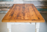 Reclaimed Wood Bread End Table