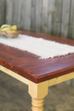 Xuan Custom Farmhouse Table