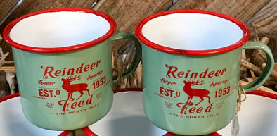 Reindeer Coffee Mugs