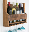 The Little Detroit Wine Rack FREE SHIPPING