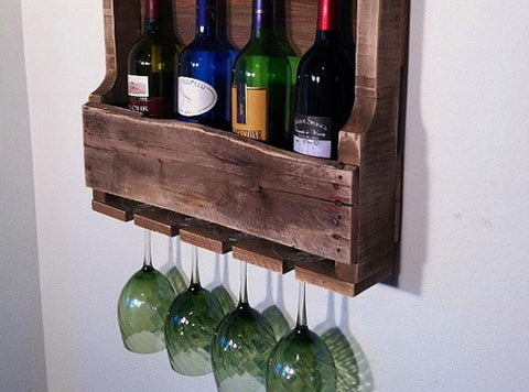 Little Traverse Wine Rack for Small Spaces FREE SHIPPING
