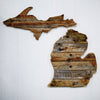Reclaimed Wood State of Michigan
