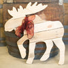 Reclaimed Wood Moose Wall Hanging