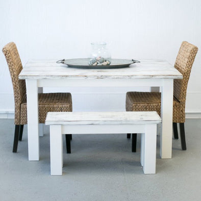 White Washed Dinette Table