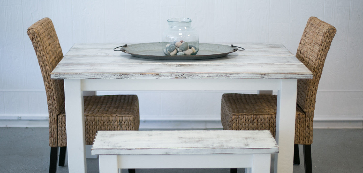 Rustic Cherry Harvest Table