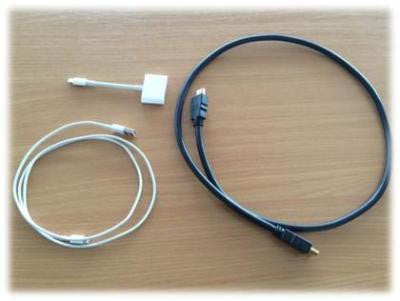 Apple Lightning cable for Kenwood DAB unit