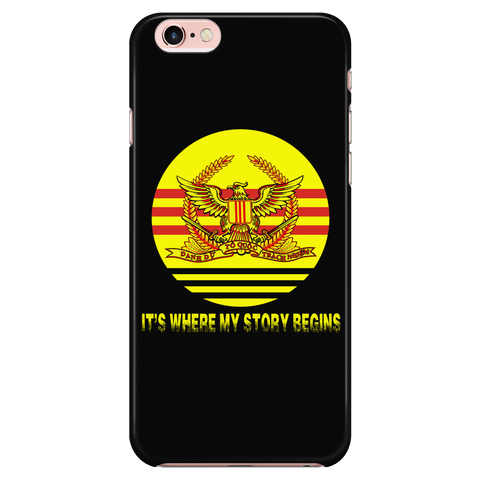 It's Where My Story Begins - Phone Cases