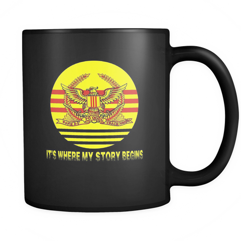It's Where My Story Begins - Mug - Black