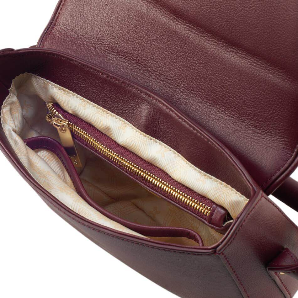 The Maia Bag in Oxblood Color