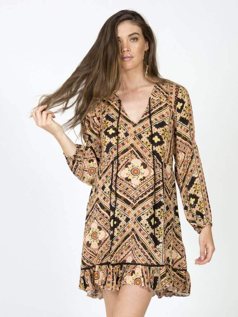Soledad Printed Dress