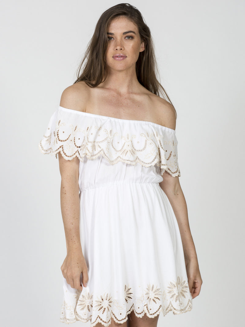Olimpia Dress in White Color