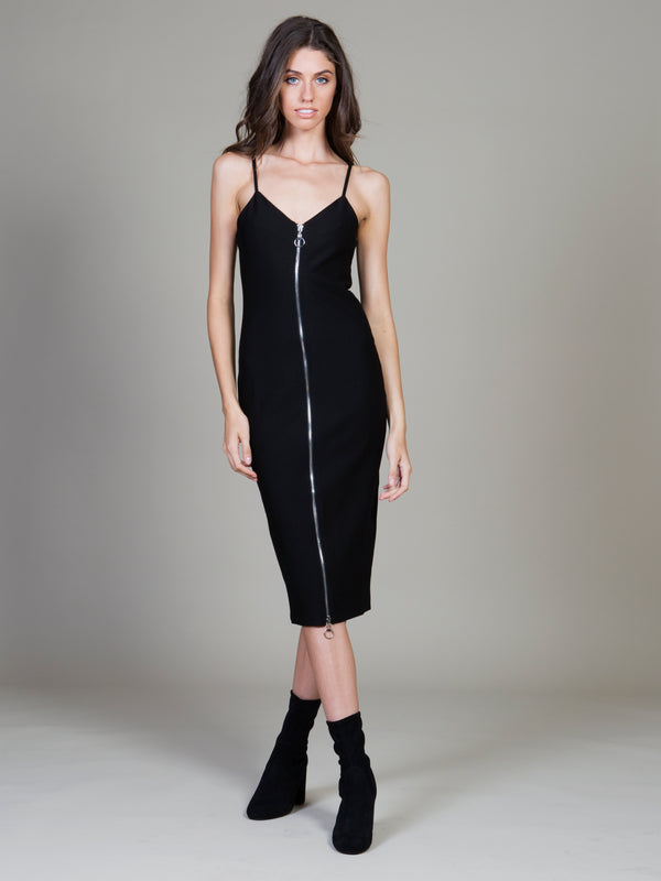 Zip Through Dress by MINKPINK