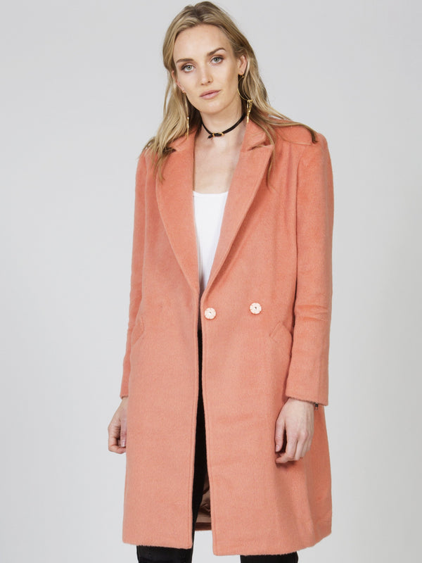 Fearless Wool Coat