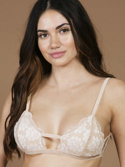 The Raven Lace Bra