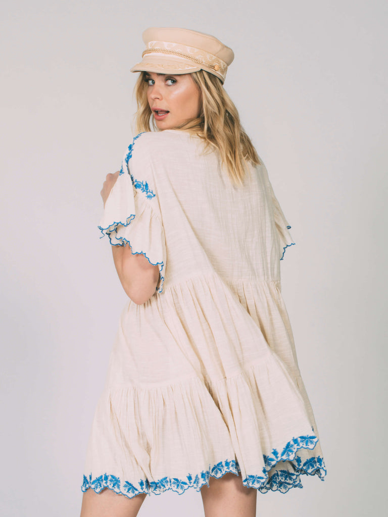 Santiago Embroidered Mini Free People