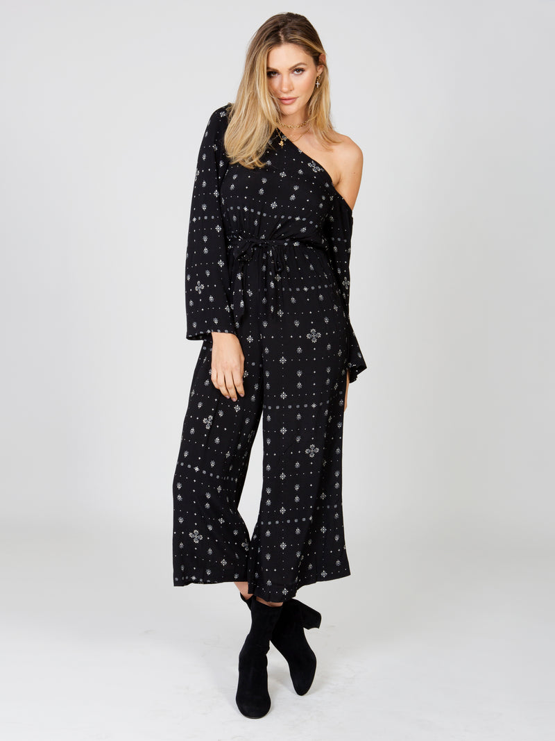 Stargazer One Shoulder Jumpsuit
