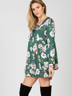 Burning Desire Tunic Dress