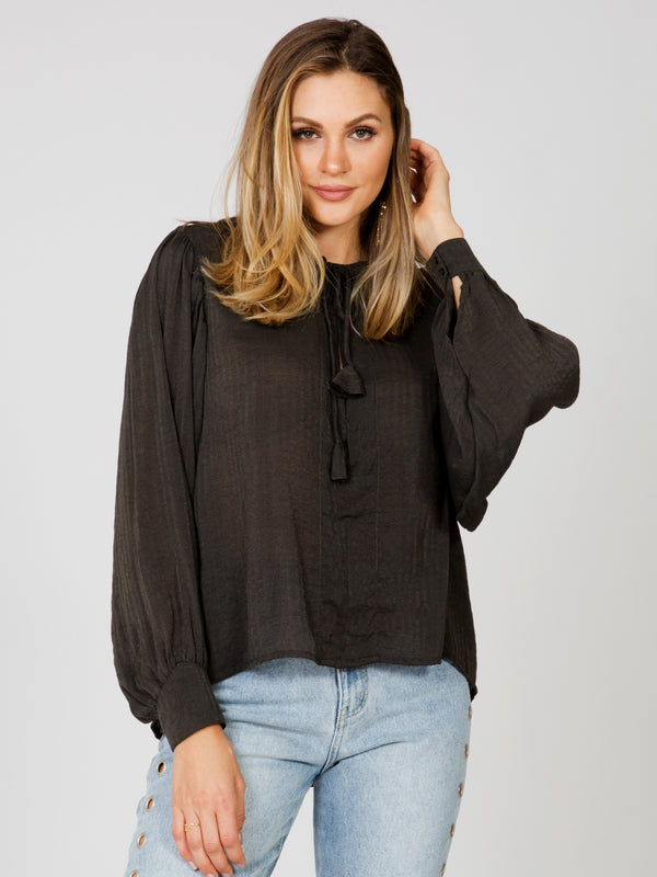 Jezebel Peasant Top Rue Stiic