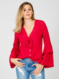 Cherry Nights Blouse Somedays Lovin